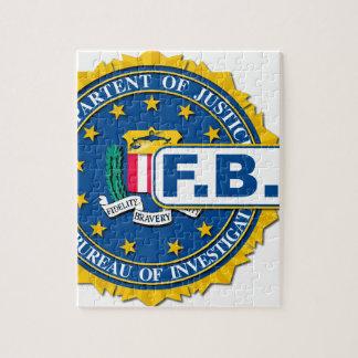 Puzzle Maqueta del sello del FBI
