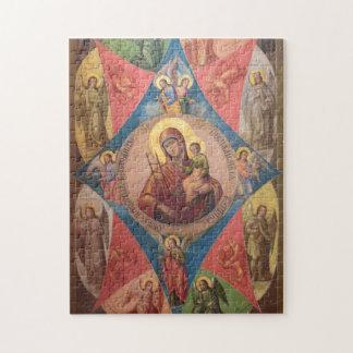Puzzle Maria, Jesús, y ángeles
