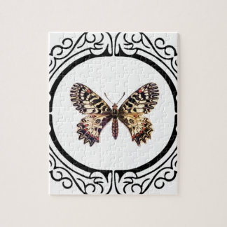 Puzzle mariposa anillada manchada