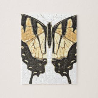 Puzzle mariposa cercana