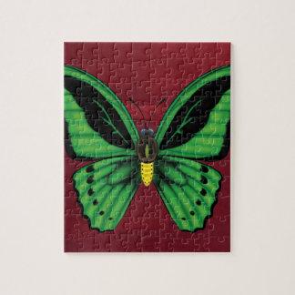 Puzzle Mariposa de Birdwing de los mojones