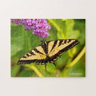 Puzzle Mariposa de Swallowtail en la mariposa Bush