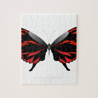 Puzzle Mariposa roja 1 por los fernandes tony