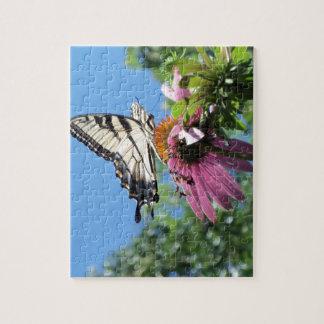 Puzzle Mariposa (tigre Swallowtail)