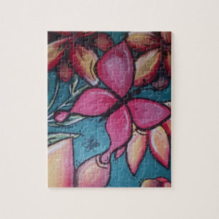 Puzzle Mariposa y girasol