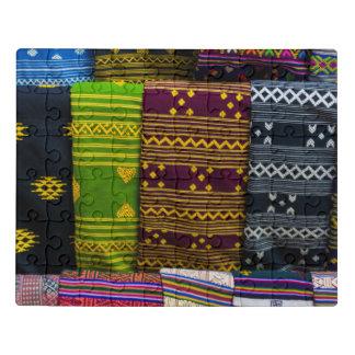 Puzzle Materias textiles del paño para la venta