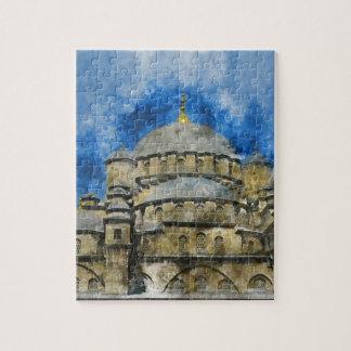 Puzzle Mezquita azul en Estambul Turquía