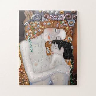 Puzzle Mi Klimt Serie: Madre y niño