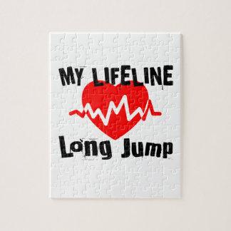 Puzzle Mi línea de vida salto de longitud se divierte