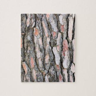 Puzzle Modelo de la corteza del pino