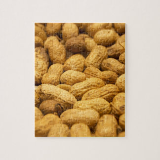 Puzzle Modelo de la nuez del cacahuete de Brown