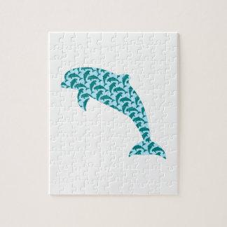 Puzzle Modelo del delfín