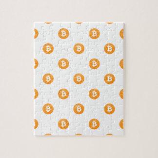 Puzzle Modelo del logotipo de Bitcoin