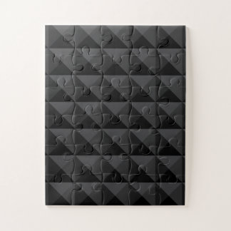 Puzzle Modelo geométrico moderno de la casilla negra