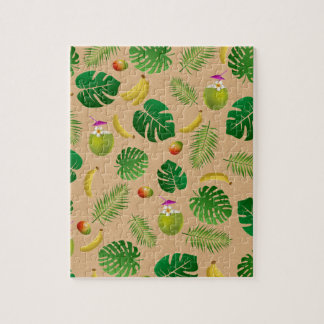 Puzzle Modelo tropical