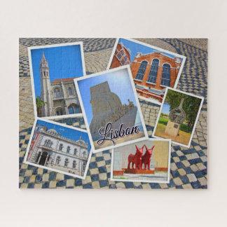 Puzzle Monasterio de Lisboa Jeronimos y monumento de los