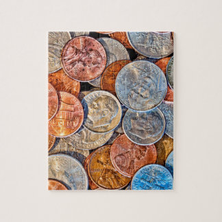 Puzzle Moneda acuñada