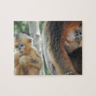 Puzzle Mono del bebé con su madre