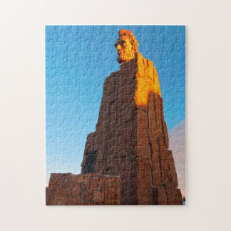 Puzzle Monumento Wyoming de Abraham Lincoln