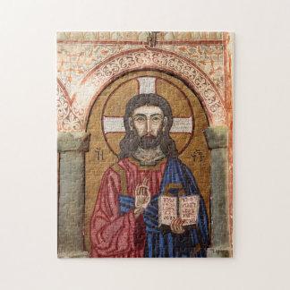 Puzzle Mosaico antiguo de Jesús