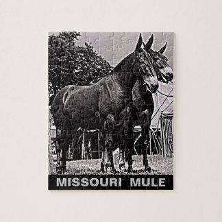 Puzzle Mula de Missouri