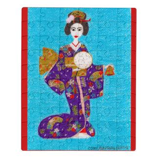 Puzzle Muñeca del geisha
