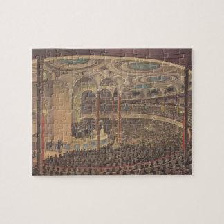 Puzzle Música del vintage, Jenny Lind, cantante sueco de