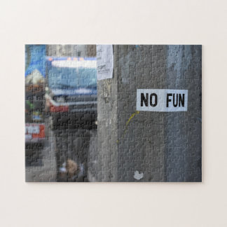 Puzzle NINGUNA fotografía urbana Nueva York NY de la