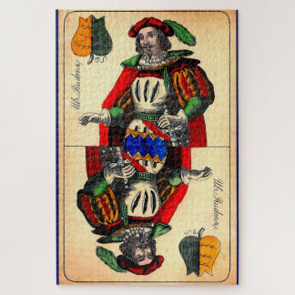 Puzzle No. del siglo XIX 1 de la carta de tarot