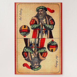 Puzzle No. del siglo XIX 2 de la carta de tarot