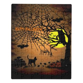 Puzzle ¡Noche de Halloween, feliz Halloween!