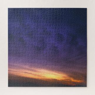 Puzzle Nubes púrpuras