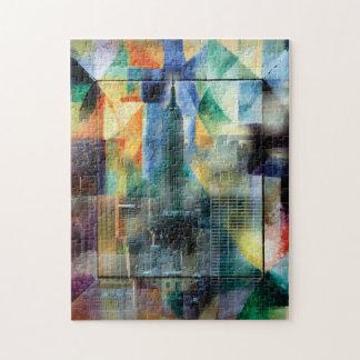 Puzzle Nueva York de la ventana