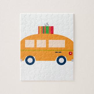 Puzzle Oro del autobús del diseño