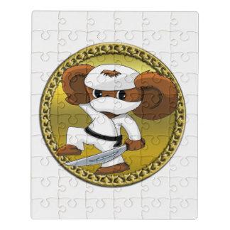 Puzzle Oso divertido lindo de Cheburashka del dibujo