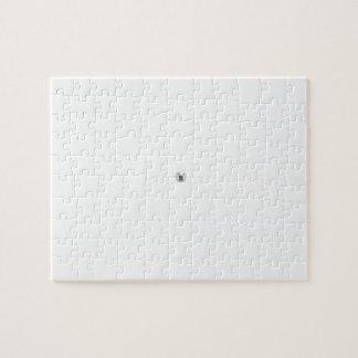 Puzzle Oso polar en una tormenta de la nieve