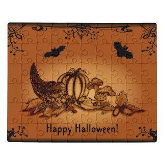 Puzzle ¡Otoño con el palo, feliz Halloween!