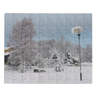 Puzzle País de las maravillas del invierno