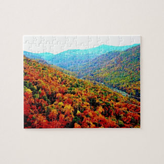 Puzzle Paisaje de Blue Ridge Mountains