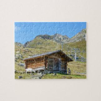 Puzzle Paisaje de las montañas de Austria