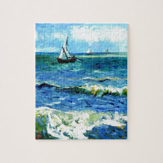 Puzzle Paisaje marino en Saintes-Maries, Vincent van Gogh