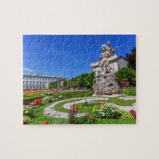 Puzzle Palacio y jardines, Salzburg, Austria de Mirabell