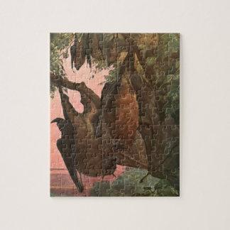 Puzzle Palos por Austen, animales salvajes del Fox de