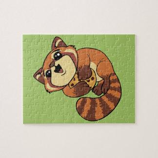 Puzzle ¡Panda roja!