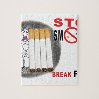 Puzzle Pare el fumar de recordatorios - no más empalma