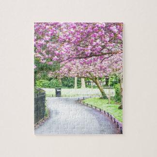 Puzzle Parque hermoso durante la primavera