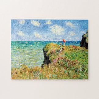 Puzzle Paseo de Clifftop en Pourville de Claude Monet