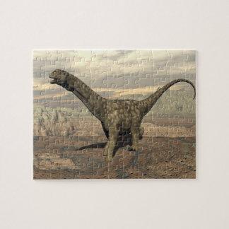 Puzzle Paseo del dinosaurio del Argentinosaurus - 3D