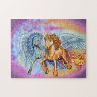 Puzzle Pegasus~puzzle del unicornio del viento y de la