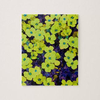 Puzzle Pequeñas flores amarillas